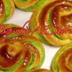 Công thức làm bánh mỳ ngọt nhân dừa lá dứa