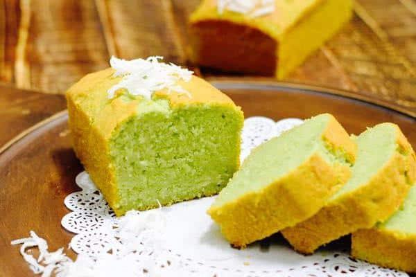 cong-thuc-lam-banh-Coco-Pandan-Pound-Cake