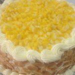 Cách làm bánh bông lan kem bắp chuẩn ngon