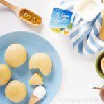 Công thức làm bánh Mochi nhân kem sữa chua chanh leo