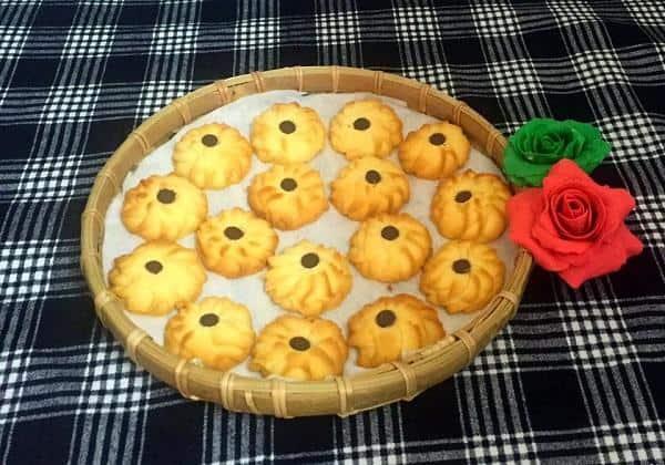 Hướng dẫn cách làm bánh Cookies bơ thơm ngon