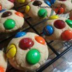 Công thức làm bánh Cookie kẹo M&M