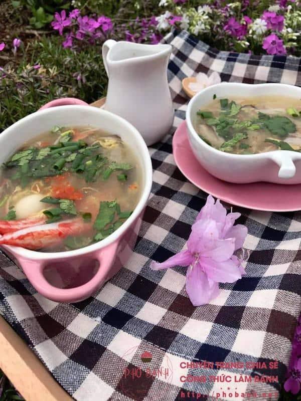 Hướng dẫn làm súp cua bong bóng cá ngon