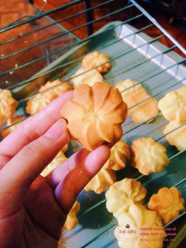 Cách làm bánh quy bơ ngon