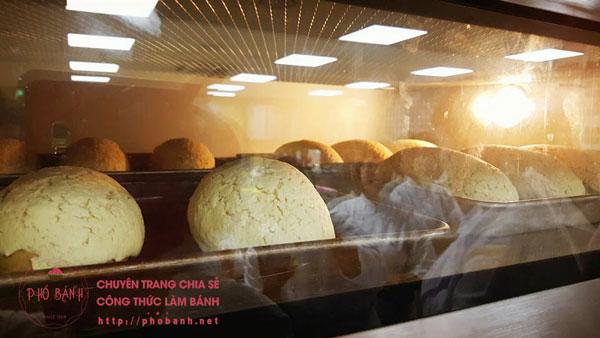 Bánh mì Mocha Korea