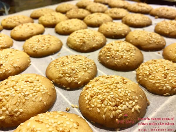 Công thức làm bánh quy vừng ngon