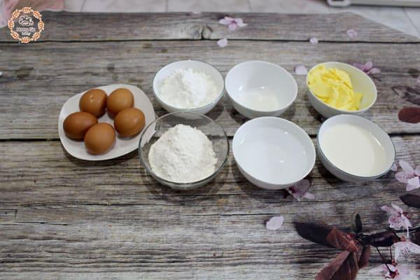 Hướng dẫn chuẩn bị nguyên liệu làm bánh Chiffon Cake
