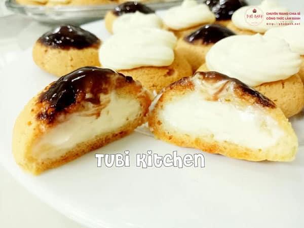 Công thức làm bánh Su kem Singapore