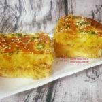 Công thức làm bánh mì chà bông sốt bơ