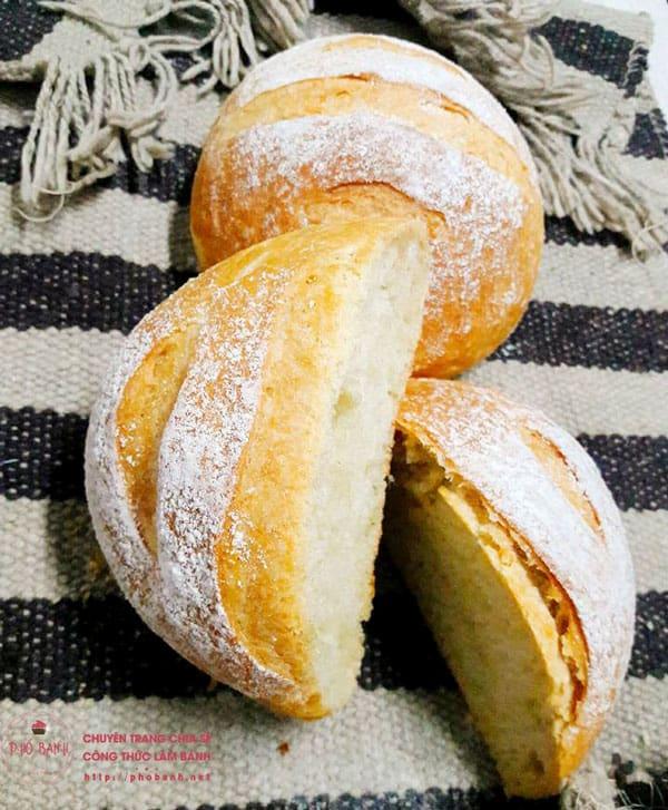 Hướng dẫn công thức làm bánh mì khoai tây cực hấp dẫn
