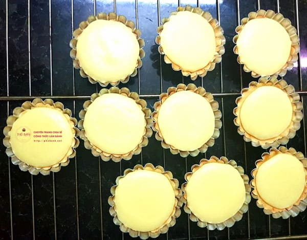 Hướng dẫn làm Bake Cheese Tart