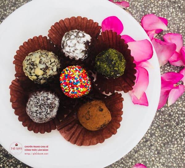 Hướng dẫn cách làm Chocolate Truffles