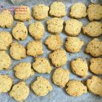 Cách làm bánh quy bơ dừa hạnh nhân