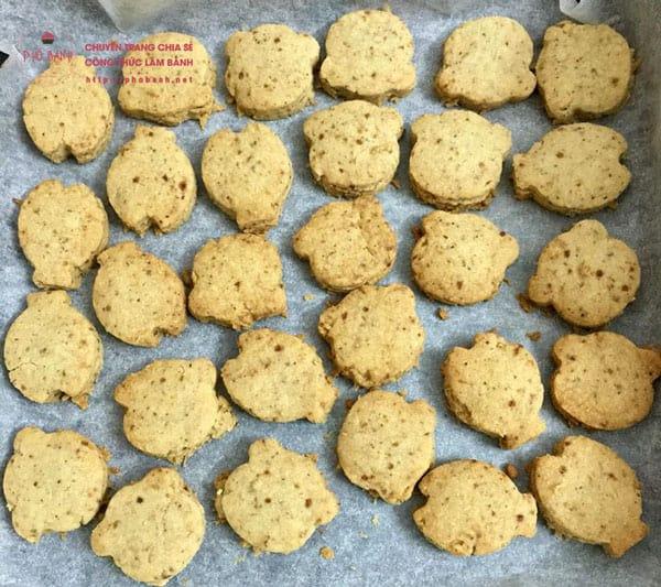 Hướng dẫn cách làm bánh quy bơ dừa hạnh nhân