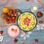 Cách làm sữa chua dẻo trái cây ngon tại nhà