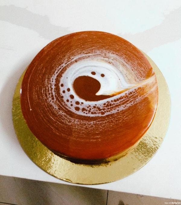 Công thức bánh mousse socola 3 màu