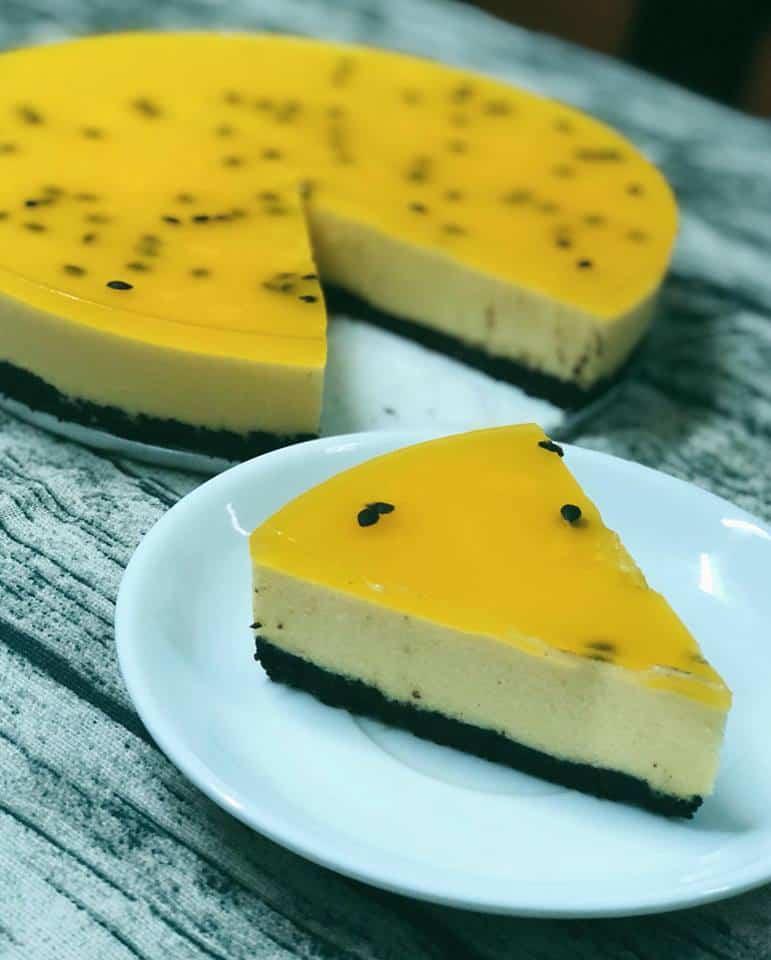 Cách làm bánh Passion Cheesecake