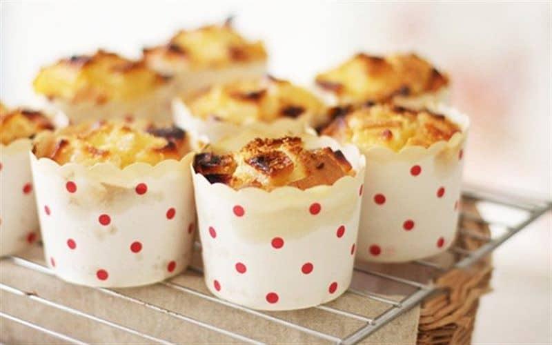Làm bánh muffin hương táo cho bé ăn dặm