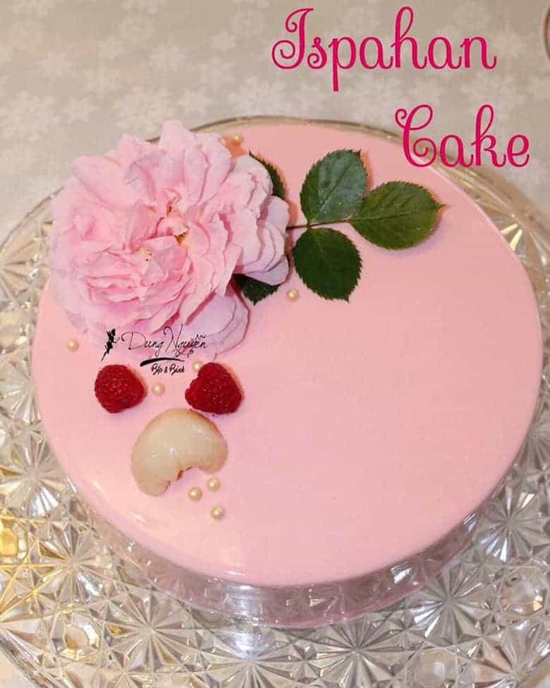 Cách làm bánh Ispahan Cake