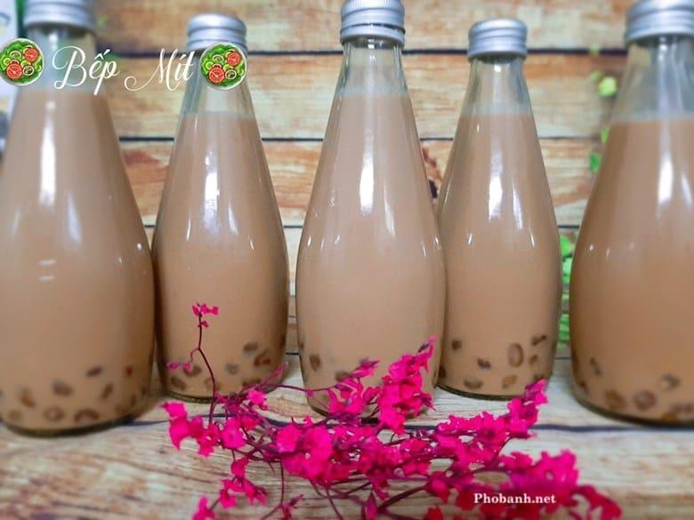Cách làm trà sữa nướng thơm ngon