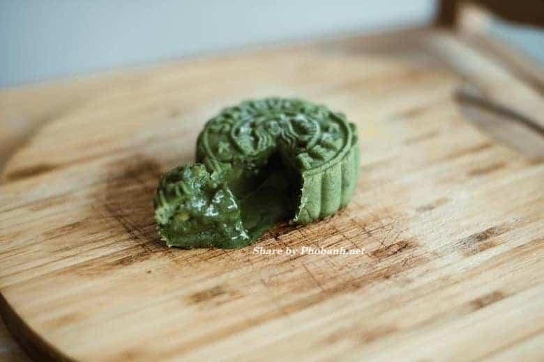 Bánh trung thu Lava Mooncake trà xanh