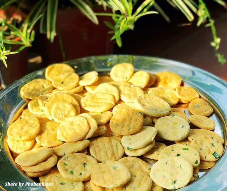 Thành phẩm bánh hành Đài Loan