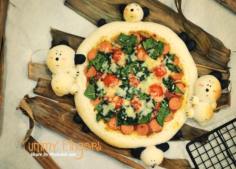 Cách làm bánh Pizza Pate chuẩn ngon